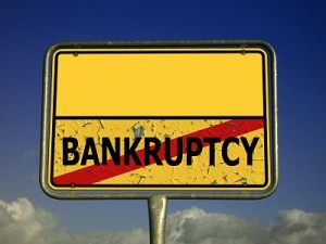 bankruptcy during litigation